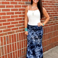 Hippie Chic Maxi Skirt