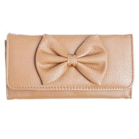 Big Bow Fold Wallet