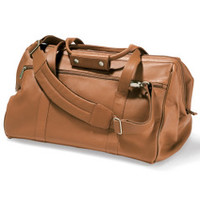 The Widemouth Leather Weekend Bag