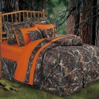 Oak Camo Comforter Set, Queen