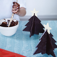 3D Christmas Tree Chocolate Mould