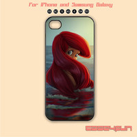 Little Mermaid,Disney, iPhone 5C Case, iPhone 5S , Phone case,iPhone 4 Case, iPhone 4S Case, Case,Samsung Galaxy S3, Samsung Galaxy S4