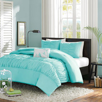Walmart: Home Essence Apartment Haley Comforter Set