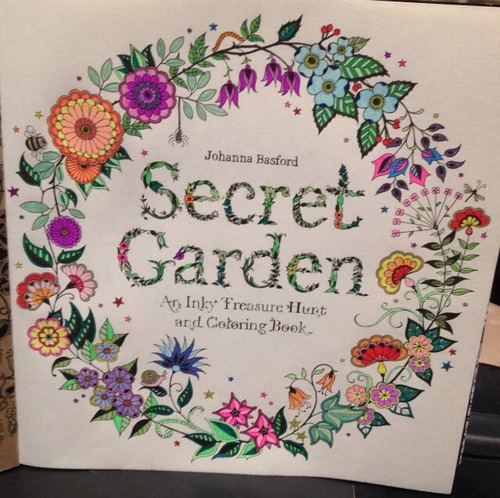 Secret Garden An Inky Treasure Hunt And From Amazon
