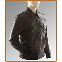 The Avengers Steve Rogers (Chris Evans) Brown Bomber Motorcycle Jacket