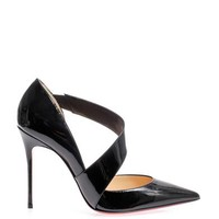 CHRISTIAN LOUBOUTIN Ograde patent-leather pumps