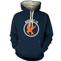 Something Geeky PP - Mockingjay District 13 Premium Hoodie - Inspired By Hunger Games
