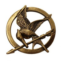 BlueTop(TM) The Movie Mockingjay For Hunger Games Pin Brooch Prop Rep Pin (A)