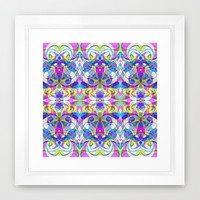 Indian Style G161 Framed Art Print by MedusArt