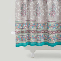 Adhira Booti Shower Curtain