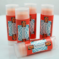 Pepperoni Pizza Lip Balm  New by BungalowBathBody on Etsy