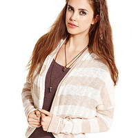 American Rag Sweater, Long-Sleeve Striped Cardigan