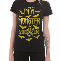 Of Mice & Men Monster Girls T-Shirt