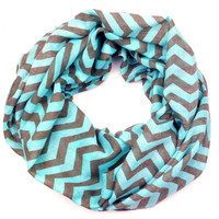 Sun Gaze Chevron Infinity Scarves