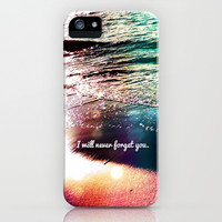 I will never forget you - for iphone iPhone & iPod Case by Simone Morana Cyla