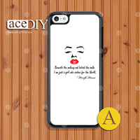Marilyn Monroe, iPhone 5c case, Phone cases, iPhone 5c case, Case For iPhone, Skins, Cover Skin --C50939