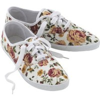 Joe Browns Women's Antique Rose Floral Lace Up
