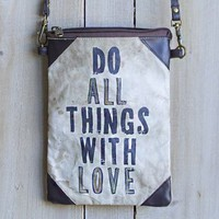 With Love Tarp Sling Bag