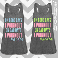 Bad Days - Women's Workout Gym Tank