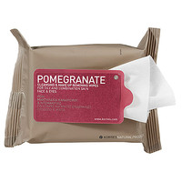 Sephora: Korres : Pomegranate Cleansing & Make Up Removing Wipes For Oily And Combination Skin : makeup-remover