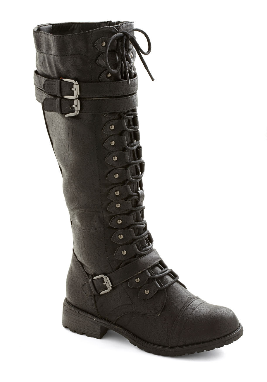 Channeling Classic Boot in Black | Mod Retro Vintage Boots | ModCloth.com
