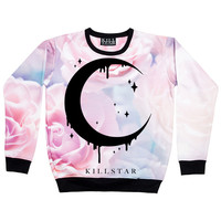 Pastel Moon Sweatshirt [MULTI] | KILLSTAR