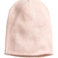 H&M - Knit Hat - Light pink - Ladies