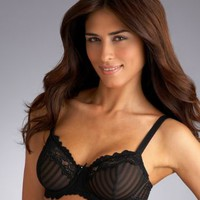 Whimsy by Lunaire Barbados with Lace Demi Bra 15211B at BareNecessities.com