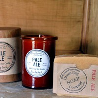 Pale Ale Soap & Candle Gift Set