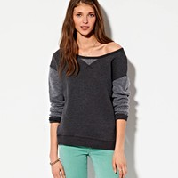 AE MIXED FLEECE SWEATSHIRT