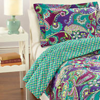 Reversible Comforter Set Twin/Twin XL