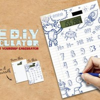 DIY Calculator! - Design It - Draw It - Do It Yourself!