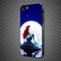 CashCases - Disney Ariel The Little Mermaid In The Moonlight - iPhone 4/4s, 5, 5s, 5c, Samsung S3, S4