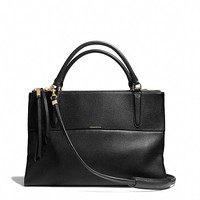 THE BOROUGH BAG IN PEBBLED LEATHER