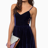 Soft Whispers Velour Dress $39
