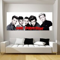 One Direction Fathead-Style Decal Sticker Wall Graphic-HUGE!-USA Seller! 1D