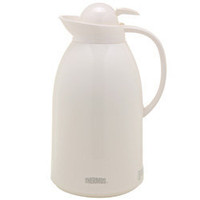 ShopThermos.com Push-Button Vacuum Carafe (White)