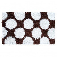 The Rug Market Polkamania Brown / White Kids Rug - 02267 - Kids' Rugs - Area Rugs by Style - Area Rugs