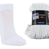 Sports World Medium 10 for $10 No Show Socks | SHOE SHOW