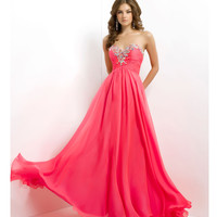 (PRE-ORDER) Blush 2014 Prom Dresses - Barbie Pink Strapless Sweetheart Prom Dress