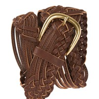 Asymmetrical Braided Belt