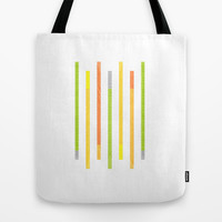Lines Tote Bag by littlestlee