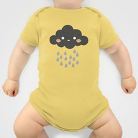 Littlest Rain Cloud Onesuit by littlestlee