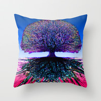 Tree of Life Creative Link Throw Pillow by TreeofLifeShop