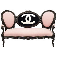 Victorian Mahogany Limited Edition 'COCO' Settee