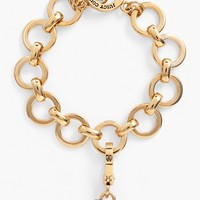 Juicy Couture Pavé Heart Charm Bracelet | Nordstrom