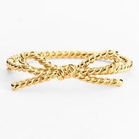 kate spade new york 'skinny mini' rope bow bangle bracelet
