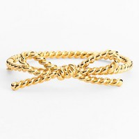 kate spade new york 'skinny mini' rope bow bangle bracelet | Nordstrom