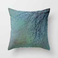 Hanging Tree  - JUSTART © Throw Pillow by JUSTART