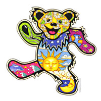 Grateful Dead - Dancing Bear Bumper Sticker on Sale for $2.99 at HippieShop.com
